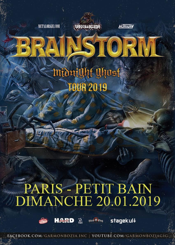 Brainstorm, Paris, Le Petit Bain, Garmonbozia