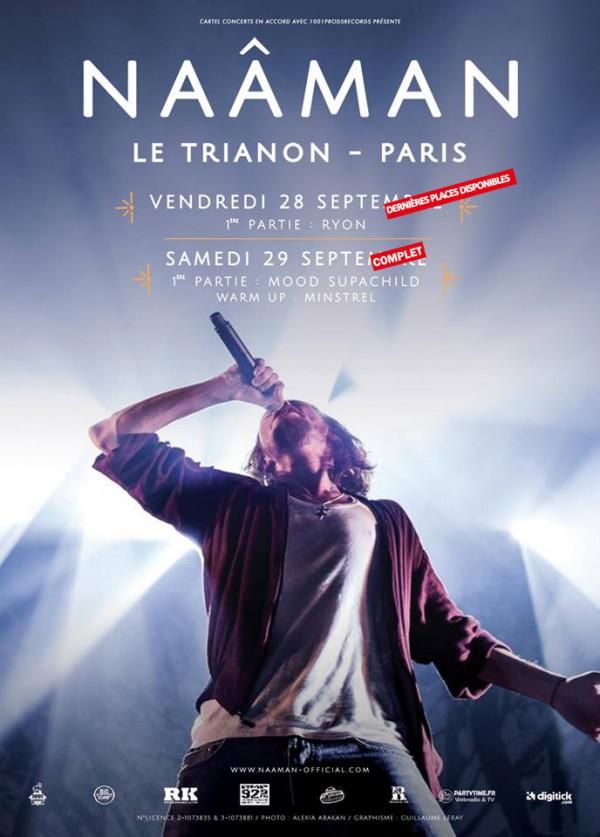Naâman, concert au Trianon