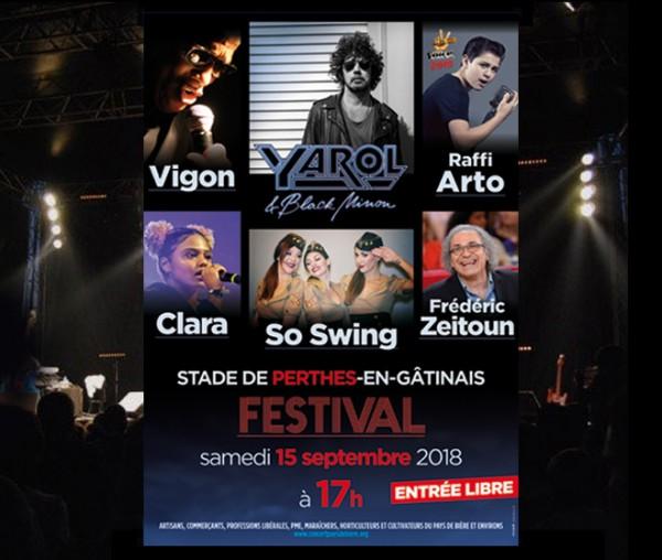 Festival de Perthes 2018 Affiche