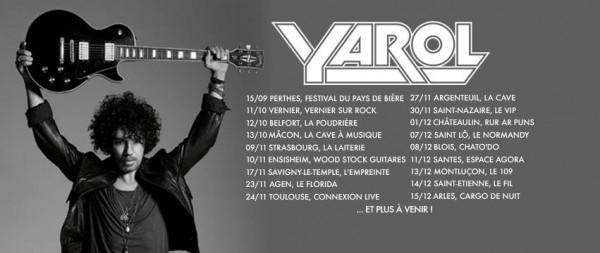 Yarol Tour Dates 2018