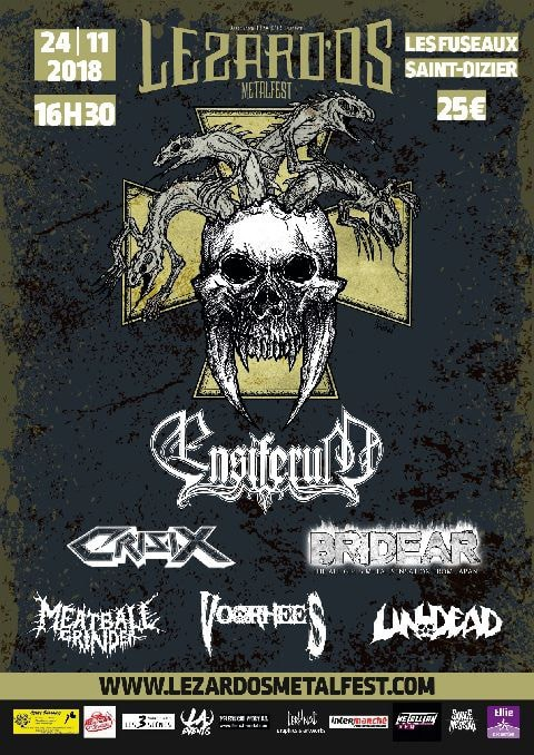Lezard'os metal fest, 2018, Saint Dizier, Haute Marne, metal, Ensiferum