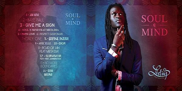 Lidiop - Soul'n Mind - Cover Tracklist