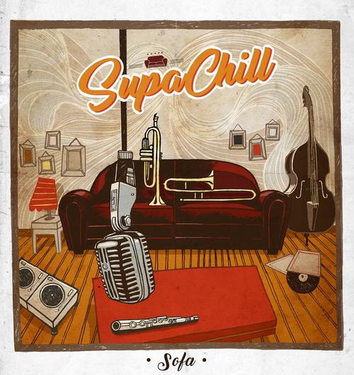 Supachill - Sofa Pochette album