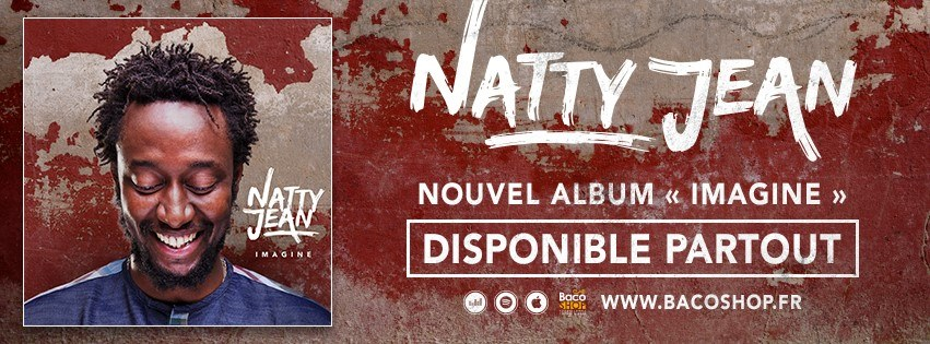 Bannière album Imagine - Natty Jean
