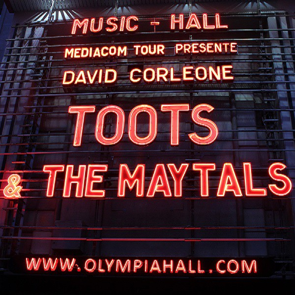 Toots and the Maytals à l'Olympia