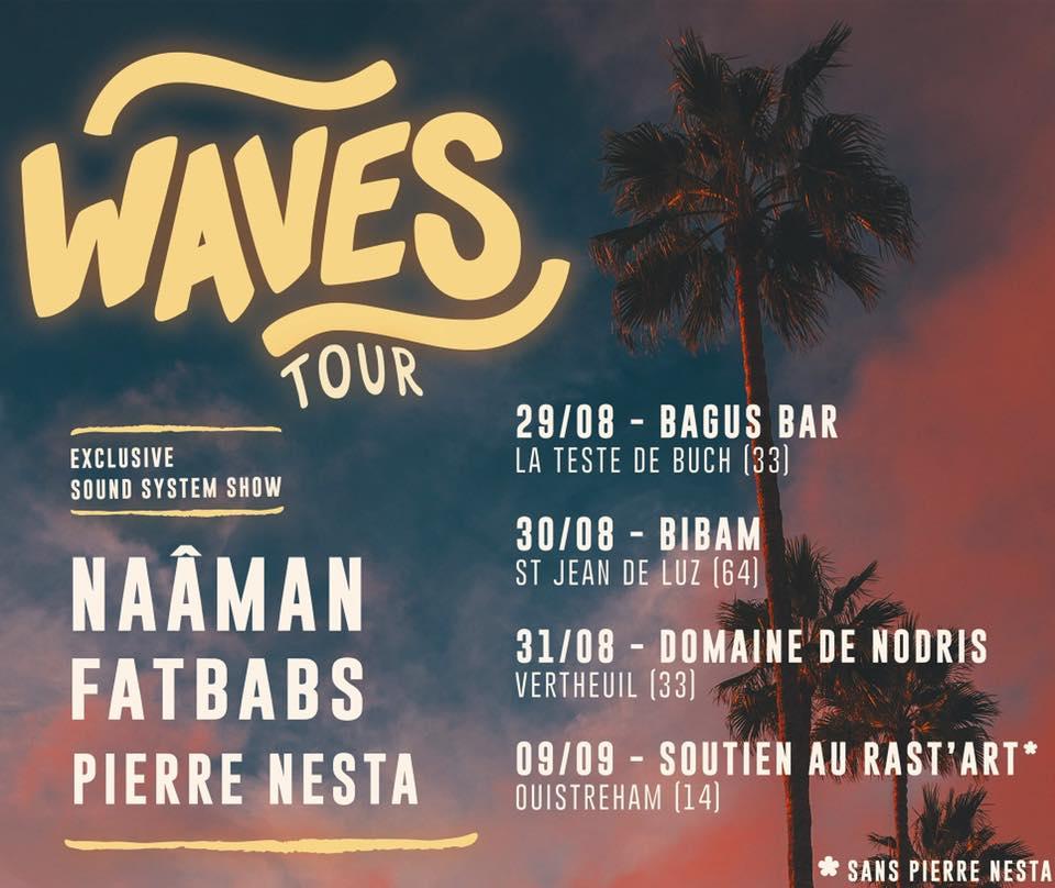 Bannière Waves Tour
