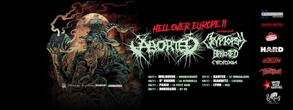 aborted, benighted, hell over europe, 2018