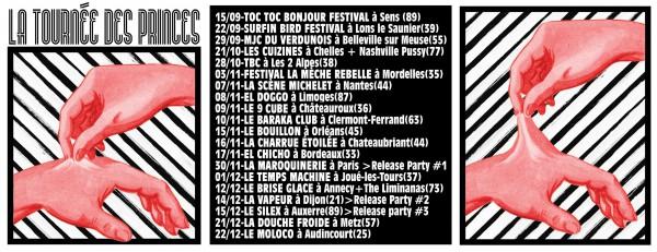Punk, Garage, Rock, Nouvel Album, Sens, 2018, Princes de l'Amour