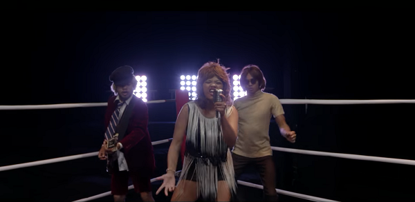 Madagascar, pop rock, boxe, ring, Marilyn Monroe.