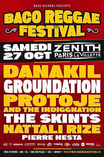 baco reggae festival, danakil, groundation