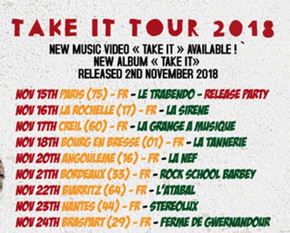 Black Roots - Take It Tour