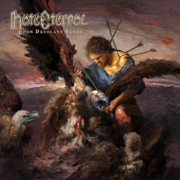 Hate Eternal, Upon Desolate Sands, review, metal, death,