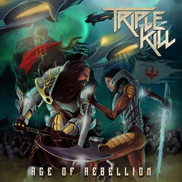 triple kill, age of rebellion, premier album, heavy metal, australie