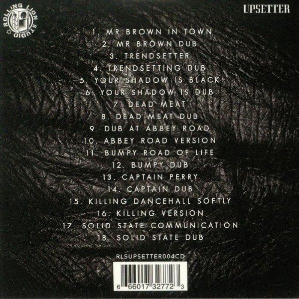 Lee Scratch Perry - The Black Album - tracklist