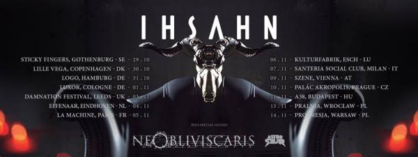 ihsahn, Ne obliviscaris, black metal, progressive metal, metal