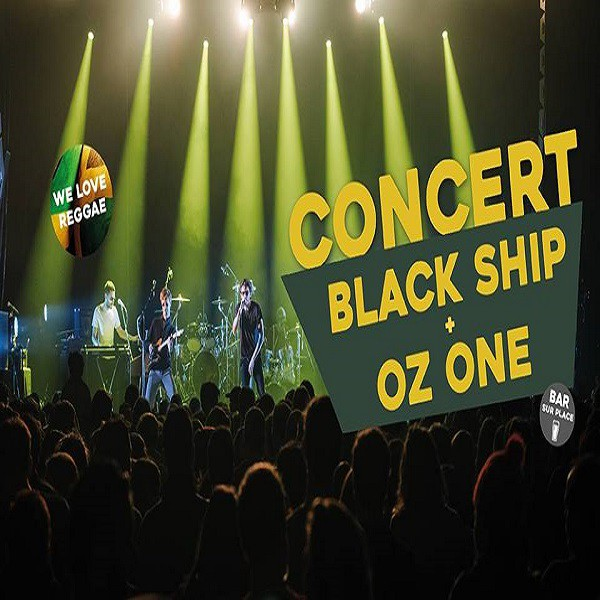 Concert MJC de Sceaux, Black Ship & Oz One