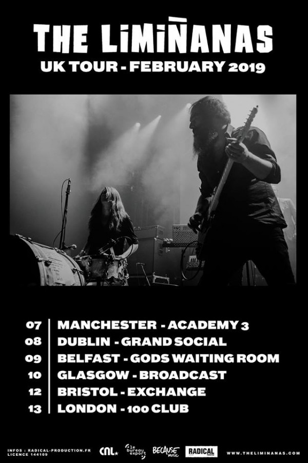 Limananas UK Tour 2019