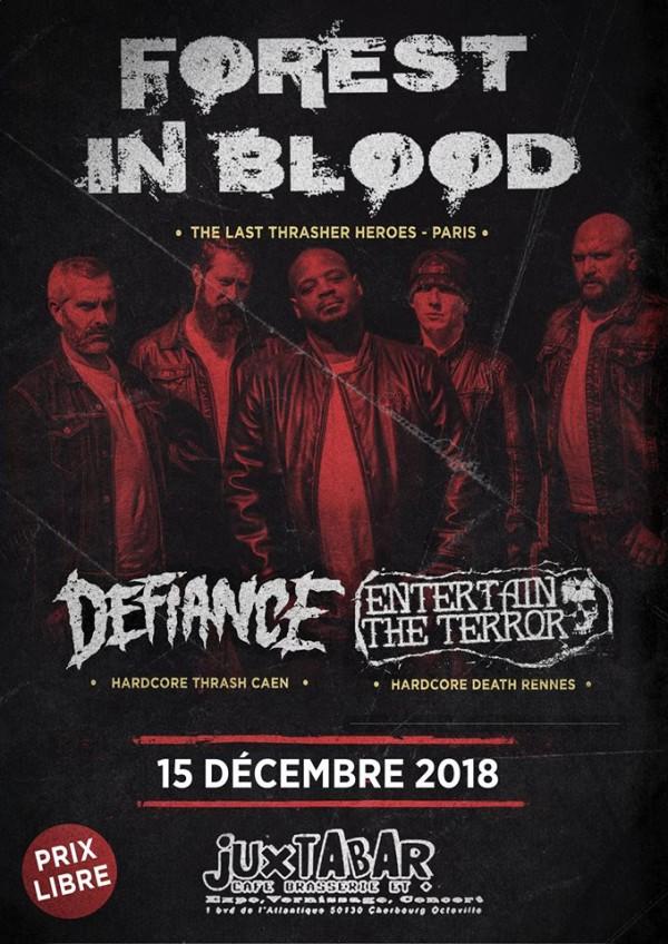 2018, album, concert, metalcore, forest in blood, pirates