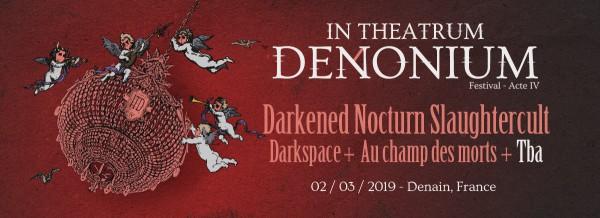 denain, in theatrum denonium, black metal, darkspace,