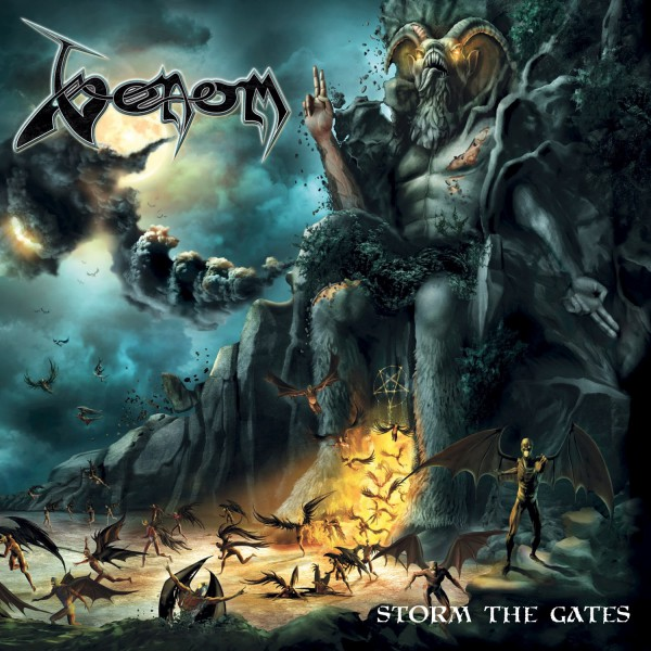 venom, metal, nouvel album, 2018, storm the gates, Spinefarm Records