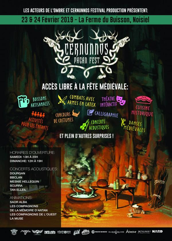 Cernunnos Pagan Festival 2019 : dernière annonce - Actu - La Grosse