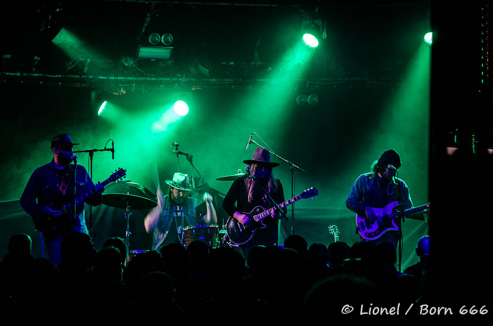 Blackberry Smoke, The Quaker City Night Hawks, Cabaret Sauvage, Paris