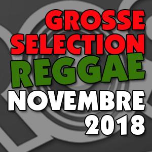 Grosse Sélection reggae Novembre 2018