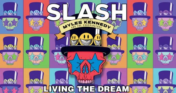 Slash, Living the dream, artwork, pochette