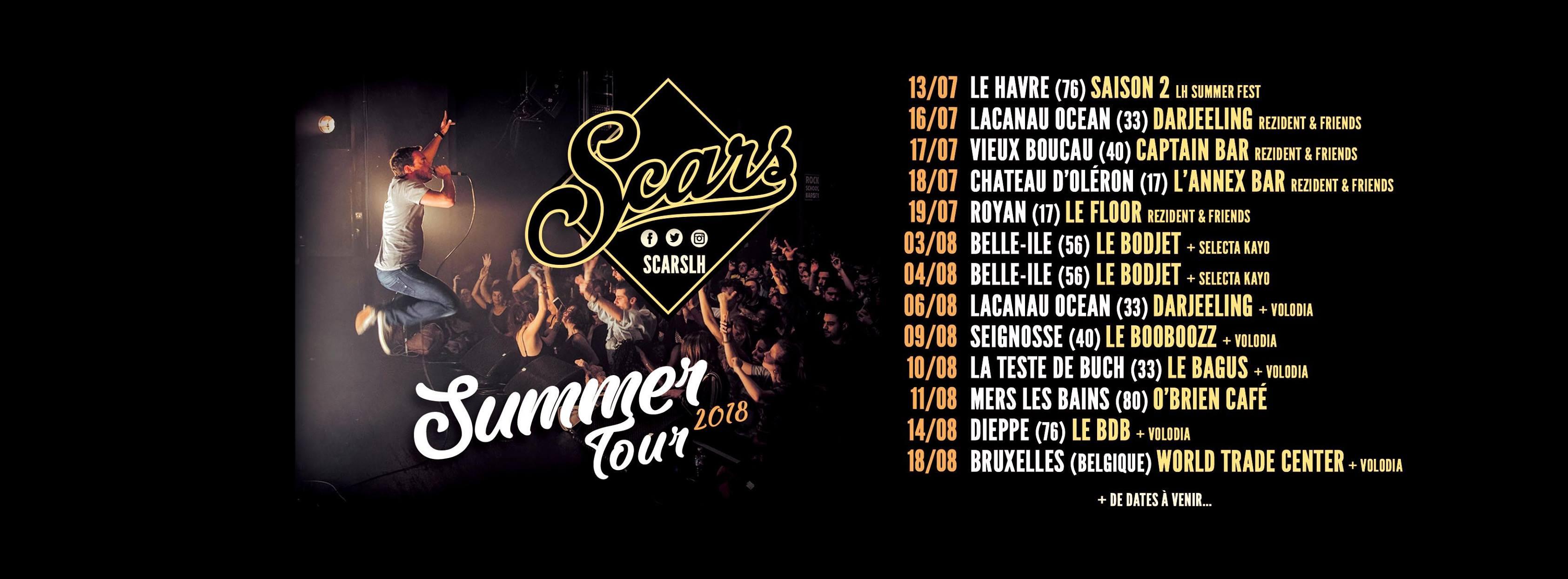 Summer Tour Scars Selecta Antwan