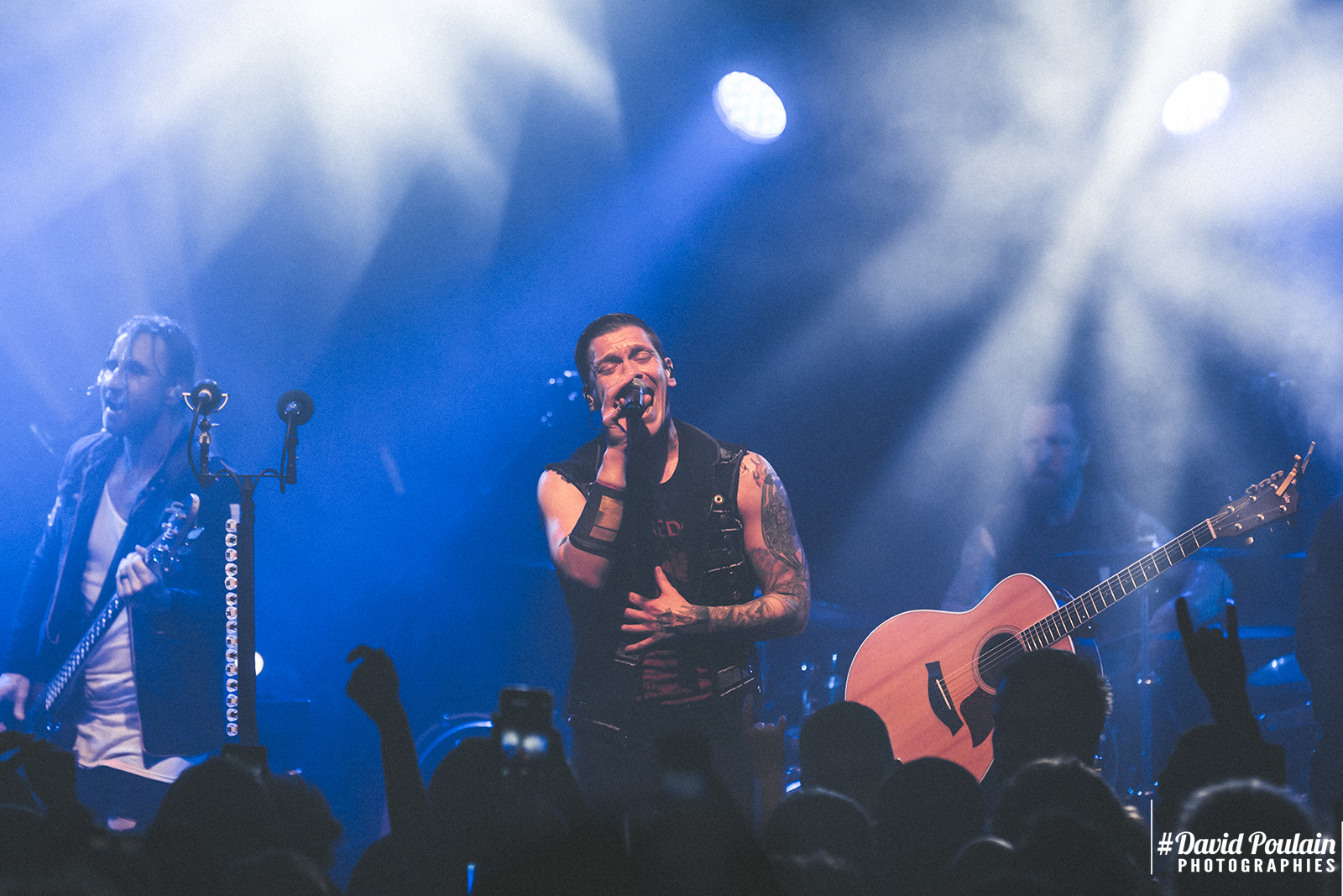 Shinedown, Cabaret Sauvage, Paris, Concert, 2018