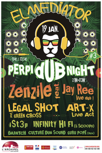 perpi dub night, perpignan, art-x