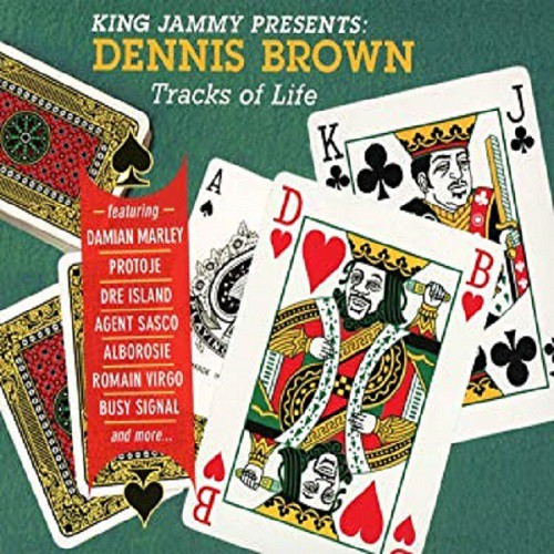 King Jammy Presents Dennis Brown - Cover