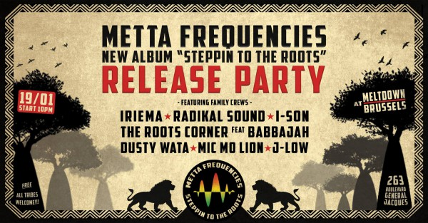 Steppin to the roots release party