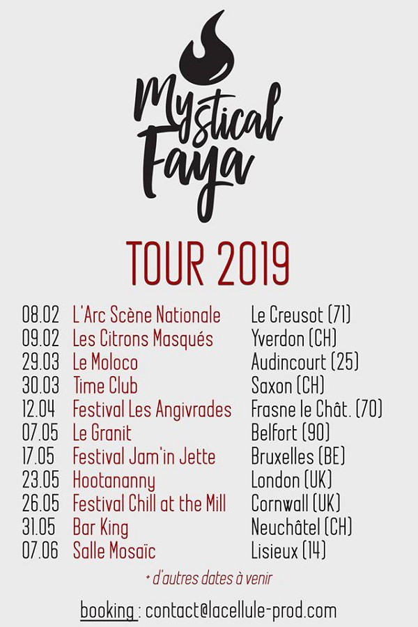 Mystical Faya - Tour 2019