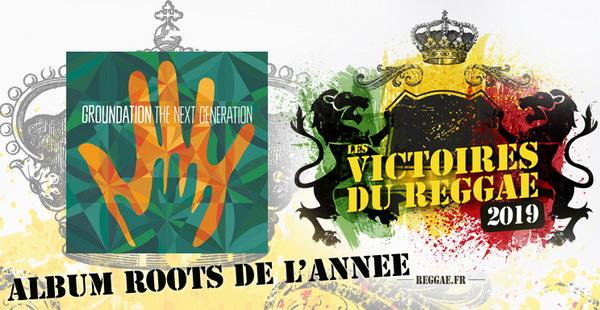 Victoires du reggae 2019 Album Roots