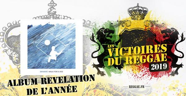 Victoires du Reggae 2018 album Révélation de l'année9