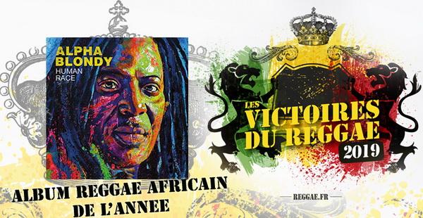 Victoires du Reggae 2019, Album Africain