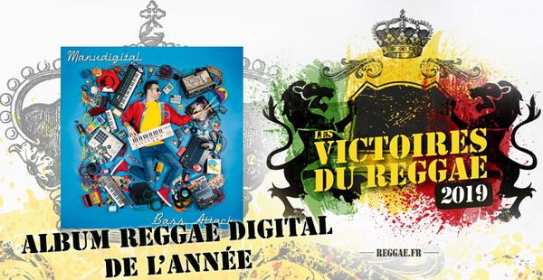 Victoires du Reggae 2019, album Digital