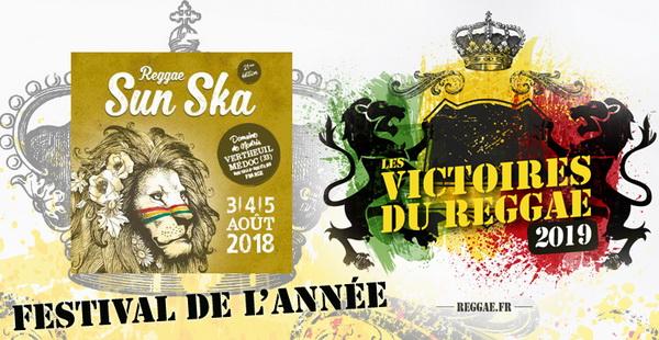 Victoires du Reggae 2019, Festival de l'année Reggae Sun Ska