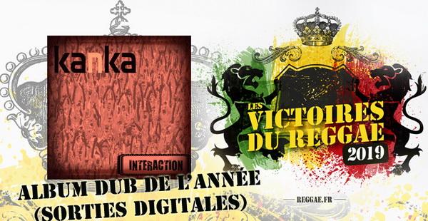 Victoires du Reggae 2019, Album Dub digital