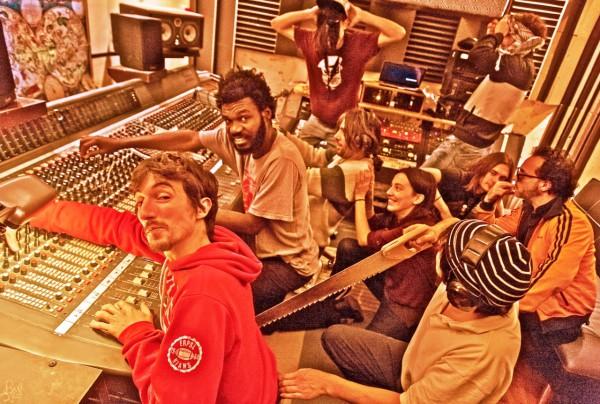 Irie Jahzz en Studio