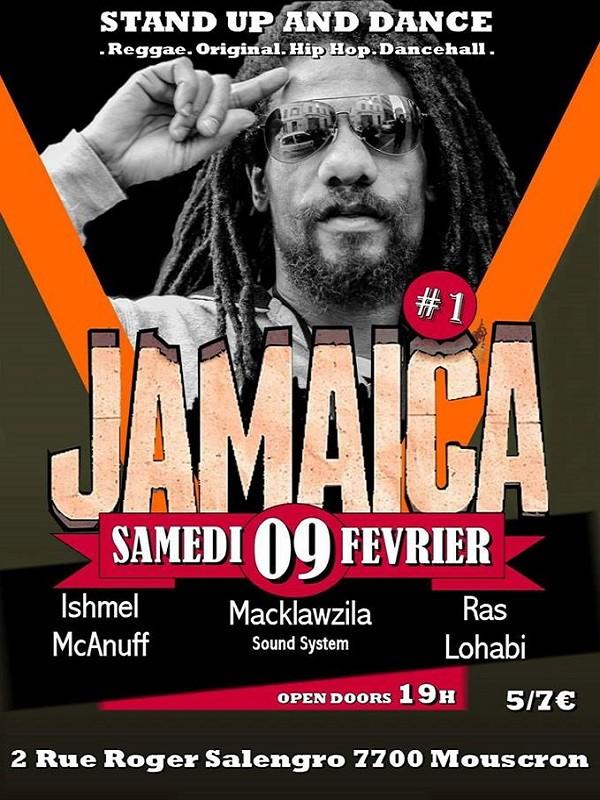 Concert Ishmel McAnuff à Mouscron le 9 février