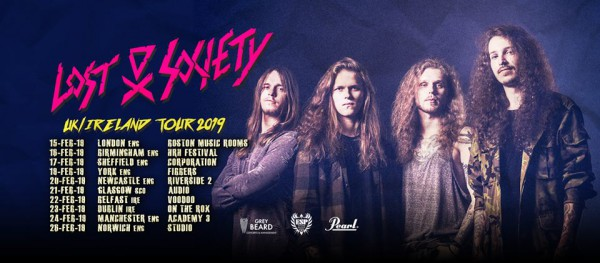 209, tournée, angleterre, irlande, lost society, thrash metal
