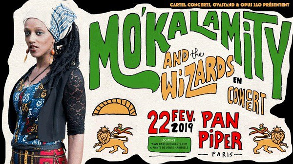Mo'Kalamity, concert au Pan Piper, le 22 février