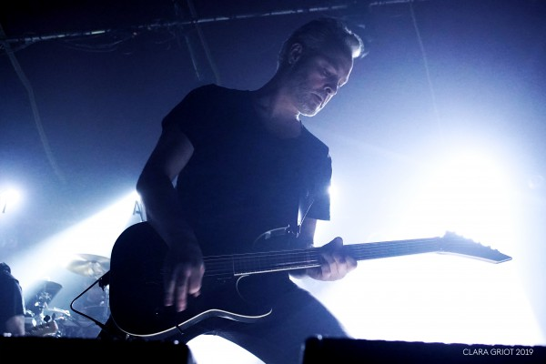 Soilwork, guitariste, Sylvain Coudret, français