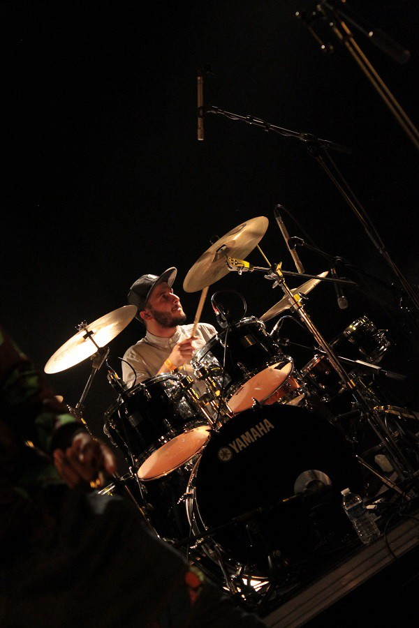 Clem Touron, Drum Bass, Lidiop - Guyancourt
