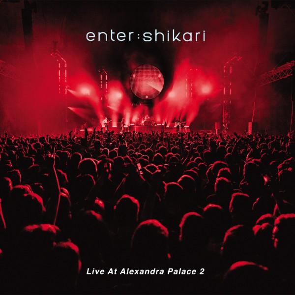 enter shikari, live at alexandra palace, cover, artwork
