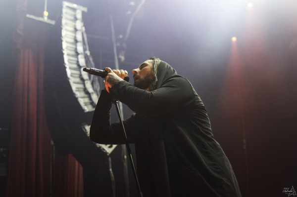 thy art is murder, live, deathcore, olympia, paris, 2019