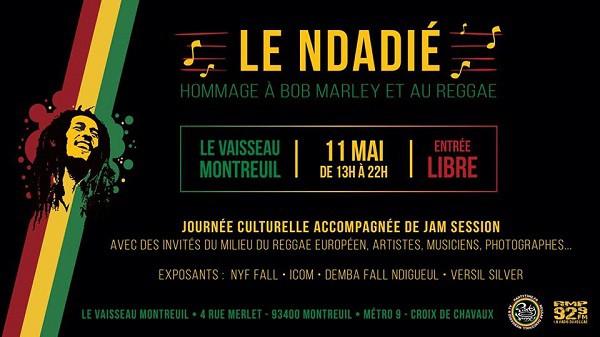 Ndadié, Cover événement - le 11 mai, Montreuil