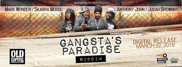 Bannière promo Gangstas Paradise Riddim
